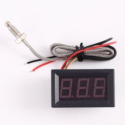 Thermometer K-type M6 Probe Thermocouple High Temperature Industrial Sensor