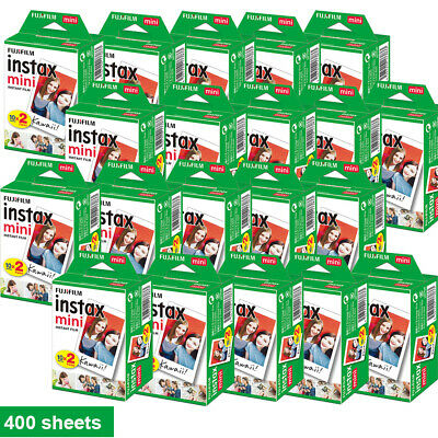 Fujifilm Instax White Film Instant for Fujifilm Instax Mini 7s/8/25/90/9 AU