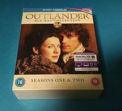 Outlander – Season 1 & 2 Box Set [Blu-ray] 2016 Region Free Scottish Drama +UV