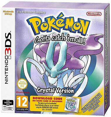 Pokemon Crystal Version (Nintendo 3DS) New and Sealed