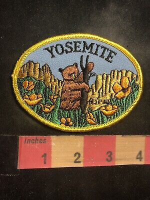YOSEMITE National Park In California Patch Cute Brown Grizzly Bear 95X4