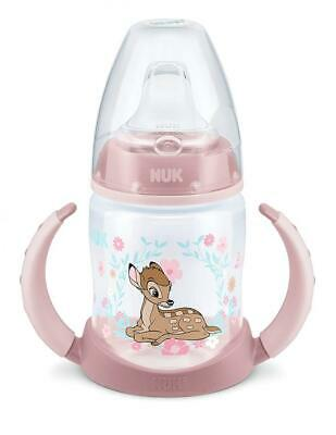 NUK First Choice 10215246Disney Classics Bambi, 6-18months, Pack of 1, Pink