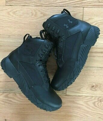 Under Armour unworn Men's UA Stellar Tactical Size-Zip Leather Boots Size 9