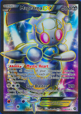 Magearna-EX (Full Art) - 110/114 Ultra Rare XY Steam Siege Pokemon Card