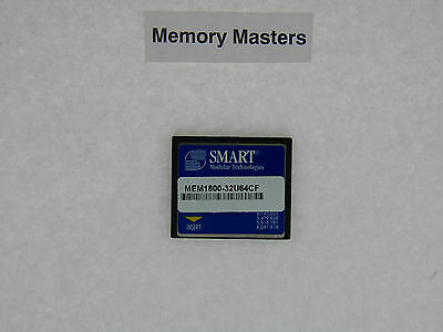 MEM1800-32U64CF 64MB Approved CompactFlash Card for Cisco 1800 routers