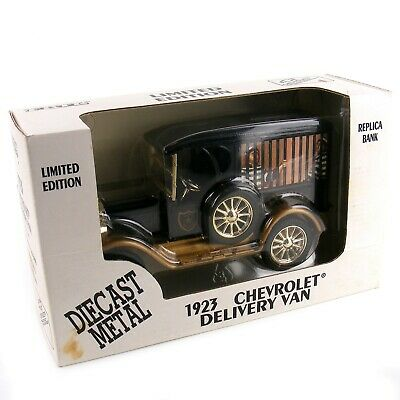 ERTL Limited Edition 1923 Chevrolet Delivery Van Replica Bank Diecast Metal 1:25