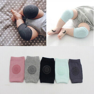 Stretchable Cotton Comfortable Soft Baby Crawling Knee & Elbow Pads Socks Mat
