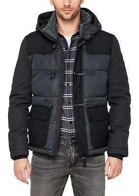 S.OLIVER CASUAL MEN theme Puffer Jacket im Colourblocking