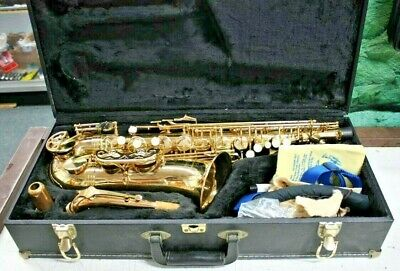 Incredible Evette Buffet Crampon Alto Saxophone W Hardshell Case Great Condition Download Free Architecture Designs Scobabritishbridgeorg