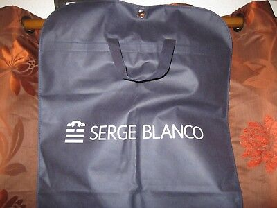 Ancienne HOUSSE VALISE DE RANGEMENT XV SERGE BLANCO RUGBY Maillot Jersey Maglia