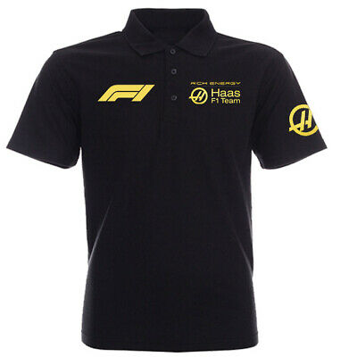 Haas Rich Energy F1 Polo Shirt S-Xxxl 2019 Formula One 1 Williams Auto Racing