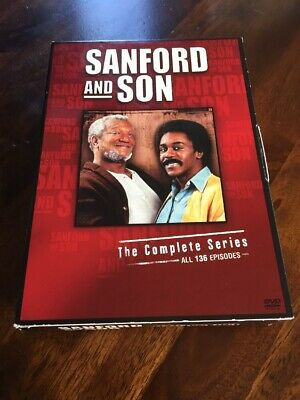Sanford And Son The Complete Series Dvd 6 Seasons On 17 Discs!