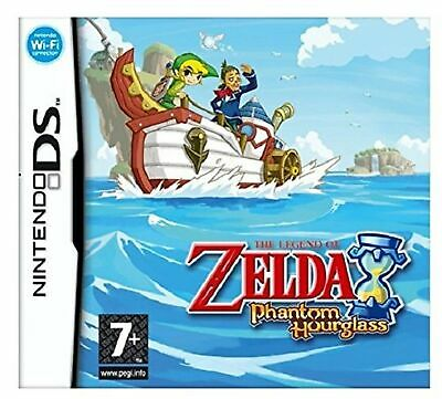 The Legend of Zelda: Phantom Hourglass - Nintendo DS [AUTHENTIC GAME ONLY]
