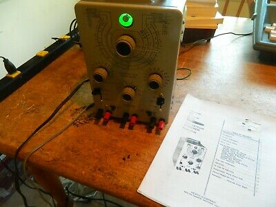 Heathkit IT-28 Capacitor Tester Checker Fully Calibrated and Working w Extras
