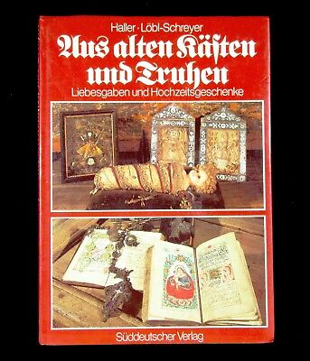 BOOK German Wedding Folk Art traditional love tokens dowry furniture Bavarian