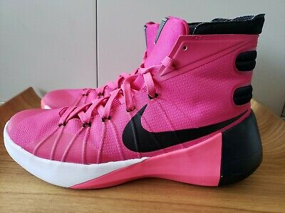 quality design 511ac 4ed63 Nike Hyperdunk 2015 Pink Breast Cancer Think Pink 749561-606 Men s Size 10  ZOOM