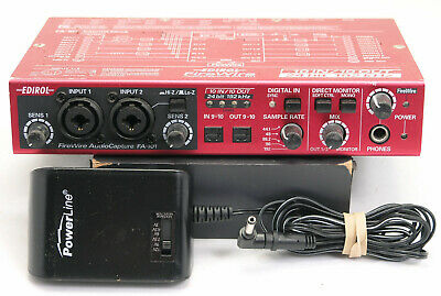 Edirol FA-101 FireWire Audio Capture Interface