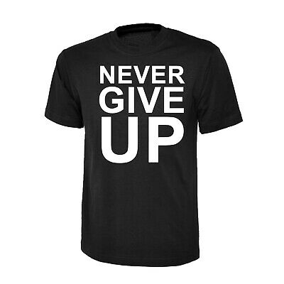 Never Give Up On Dreams WOMENS Fitted T-SHIRT Unicorn Rhino Fun birthday gift