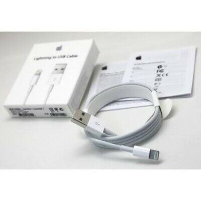 Lot 100 OEM Apple Lightning to USB Cable - 1m, White (MD818ZM/A)