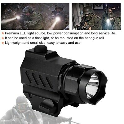 Outdoor LED Tactics Portable Aluminum Alloy Flashlight for Camping Emergency