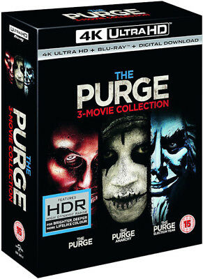 The Purge Trilogy - (4K Ultra HD Blu-ray) *BRAND NEW*