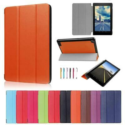 MAGNETIC THIN LEATHER Case Cover For Amazon Kindle Fire 7