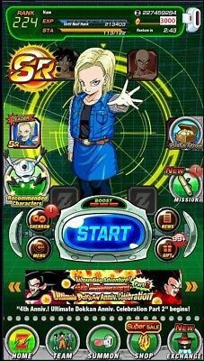 [Instant Delivery] Dokkan Battle Global farmed account 3000Stones - iOS