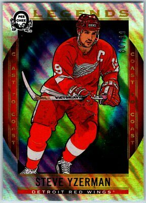 2018-19 OPC COAST TO COAST POLAR LIGHTS LEGENDS STEVE YZERMAN Card # 193 / 99