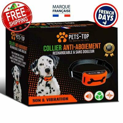 One Pets-Top Collier Anti Aboiement Chien Rechargeable【Version 2019】 Sans Ch