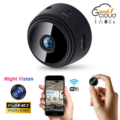 1080P HD Mini Spy IP WIFI Camera Wireless Hidden video Security DVR Night Vision