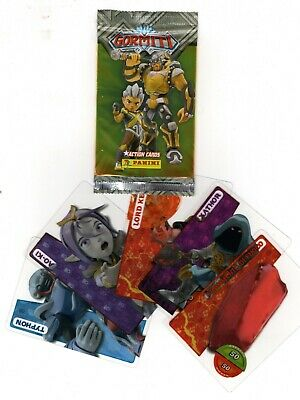 Figurine card PANINI GORMITI PANINI ACTION CARDS lotto di 50 bustine PROMO