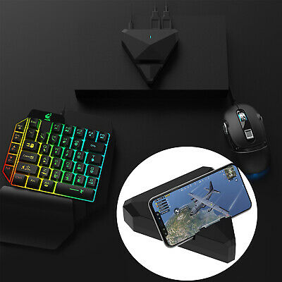 TRIANGLE PHONE BLUETOOTH Gaming Keyboard Mouse Converter Adapter For