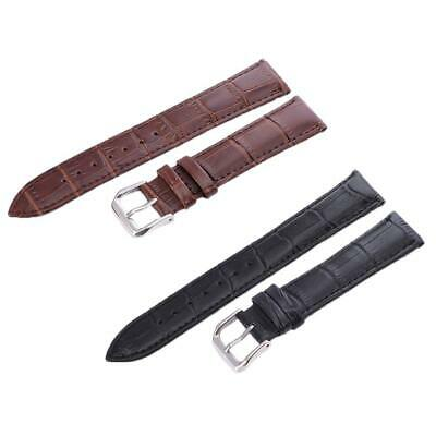 Universal Vintage Genuine Leather Wrist Watch Band Strap16/18/20/22/24mm Fashion