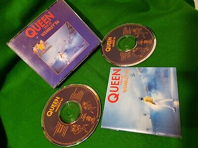 Queen live at wembley live 86 double CD 1992 Holland issue Album concert