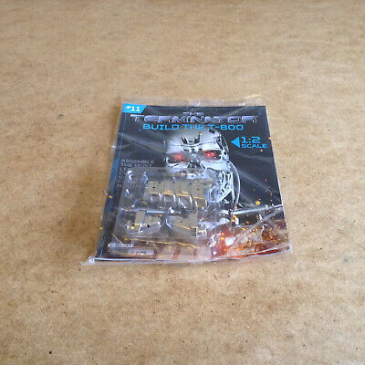 Hachette Partwork The Terminator Build The T-800 Issue 11 Model Parts 1:2 Scale