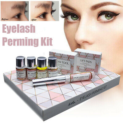 Eye Lash Lifting Extension Perm Wave Lotion Curling Perming Kit Makeup Tools