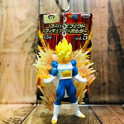 Banpresto 2010 Dragon Ball Kai Super Effects Figure KeyChain Vol.2 SS Goku
