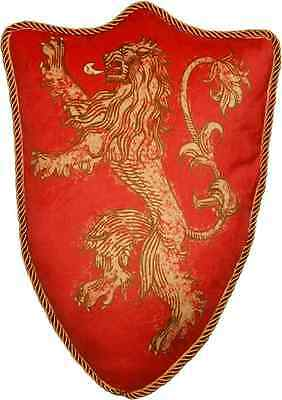 """Game Of Thrones 22"""" House Sigil Throw Pillow / Cushion - LANNISTER"""