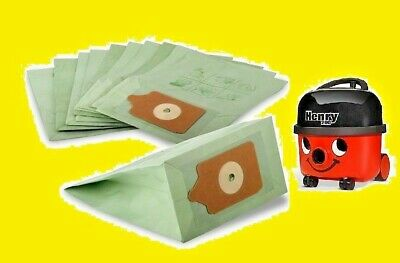 NVM1C kga-supplies 10x Pack of Double Layer Paper Bags for Numatic Hetty Hoover Vacuum Cleaner NVM1C2 Suitable To Fit: NVM1B