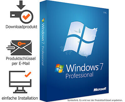 Microsoft Windows 7 Professional 32 & 64 Bit MS Win 7 Pro - MS Windows 7 Pro OEM