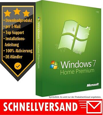 MS Windows 7 Home Premium [32 & 64 Bit] OEM Produktkey per E-Mail✔ Home Premium