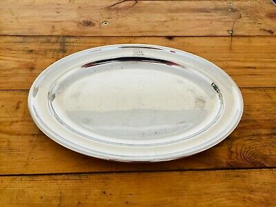 Vintage Mappin & Webb Silver Plate Serving Dish Coles Of Sheffield Dept Store