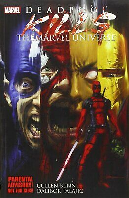Marvel Comics Deadpool Kills The Marvel Universe - Graphic Novel (Paperback)