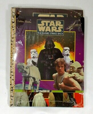RARE Star Wars The Empire Strikes Back 3 Golden Books 2 Puzzles and Mazes Books