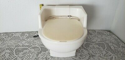 Vintage White 3 Piece Toddler Potty Seat~1980'S Unbranded-Heavy Plastic-Evc