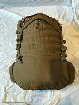 """USMC FILBE MAIN PACK Large Ruck(Pack Only) Coyote VGC """"PROFFESSIONALLY REPAIRED"""""""