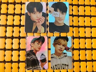 (FLAW) NCT OFFICIAL 2018 HOLOGRAM PHOTOCARD mark doyoung chenle jungwoo jeno