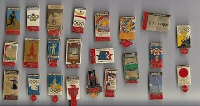 1990s OLYMPIC GAMES pin badge COCA COLA Logo Rings Olympics Soda Drink