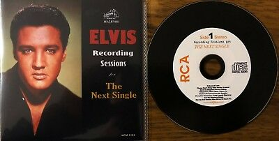 """ELVIS PRESLEY CD  """" RECORDING SESSIONS FOR THE NEXT SINGLE """" New"""