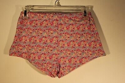 Love To Lounge - Floral Print Sleep Shorts - Women's Size M (6-8)